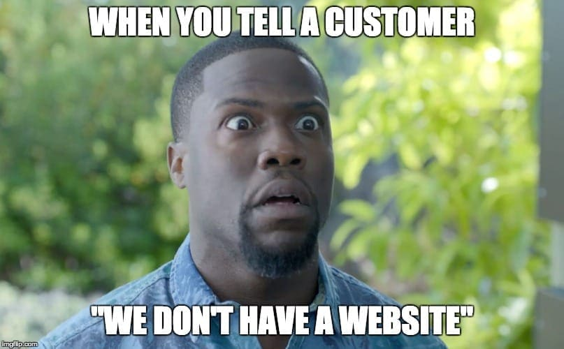 Don't Have a Website