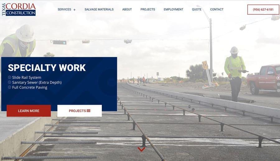Contractor SEO Website