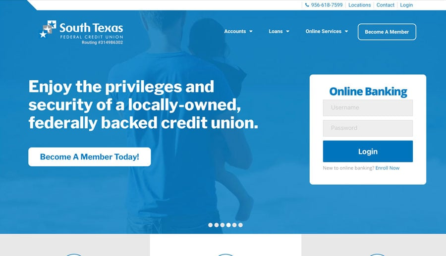Credit Union SEO Website